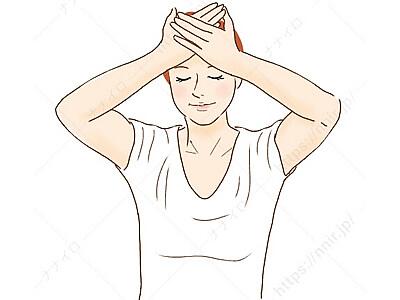 スプーンマッサージ2 不眠 改善 習慣