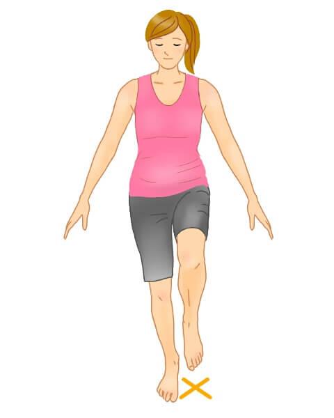 骨盤の高さズレチェック図 骨盤 腰痛