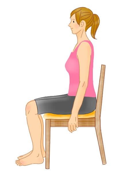骨盤のねじれチェック図 骨盤 腰痛