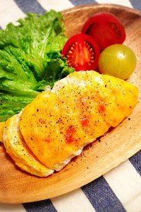 サラダチキンのチーズ焼き