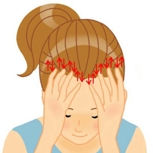 頭皮マッサージ1 白髪 予防