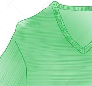 セータの型崩れはドライヤーで1 セーター たたみ方