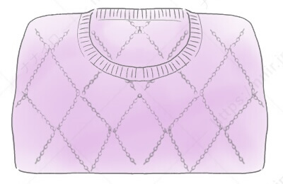 厚手のセータのたたみ方1 セーター たたみ方