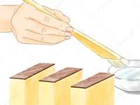 カステラの底紙をきれいに剥がす方法2 さんま きれいな 食べ方