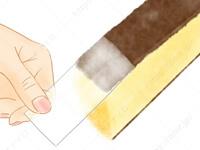カステラの底紙をきれいに剥がす方法3 さんま きれいな 食べ方