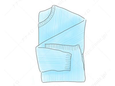 ニット・セータの洗い方1 セーター 洗濯機