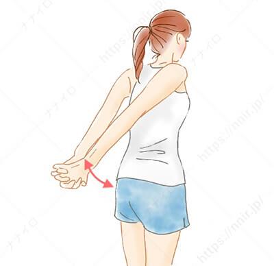 膏肓と指間穴を刺激 背中の肉 落とす 方法
