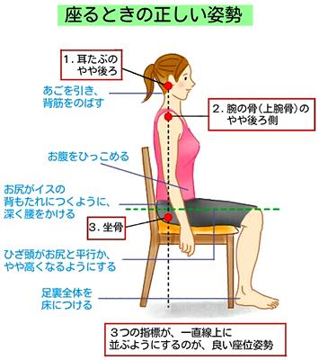 正しい姿勢2 背中の肉 落とす 方法