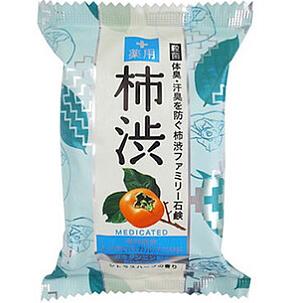 ペリカン石鹸 薬用ファミリー柿渋石鹸