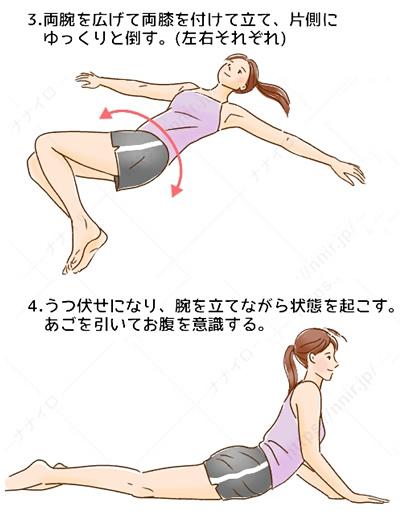 安眠ストレッチ2 睡眠 質 上げる
